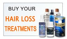 Get your hair loss treatments