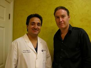 Dr. Richard Mejia and Patrick Hennessey