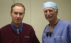 Pat with Dr Kabaker