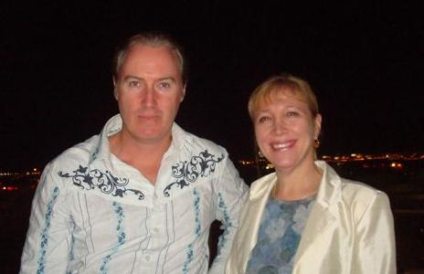 Pat with Dr Keene
