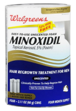 Generic Minoxidil Foam better sized